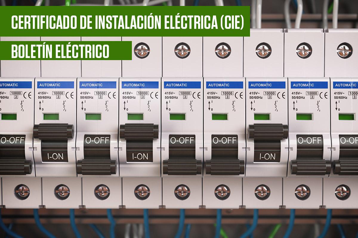 Prats Ingeniería. Certificado de Instalación eléctrica. Boletín Eléctrico
