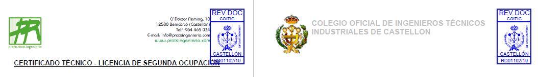 Certificado de Segunda Ocupación